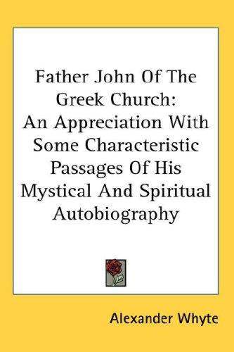 Download Father John Of The Greek Church