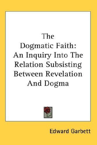 The Dogmatic Faith
