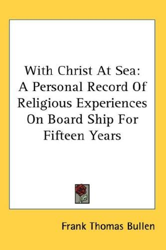 With Christ At Sea