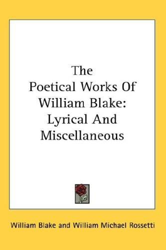 Download The Poetical Works Of William Blake