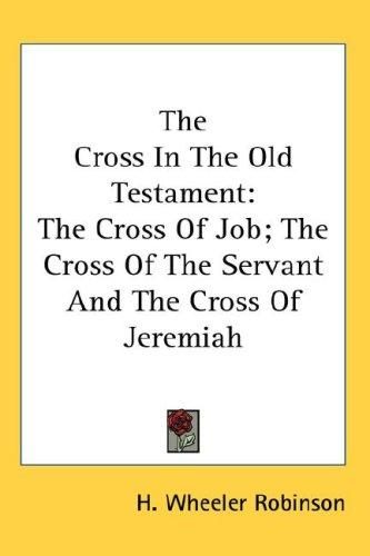 Download The Cross In The Old Testament