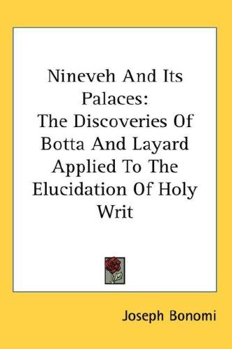 Download Nineveh And Its Palaces