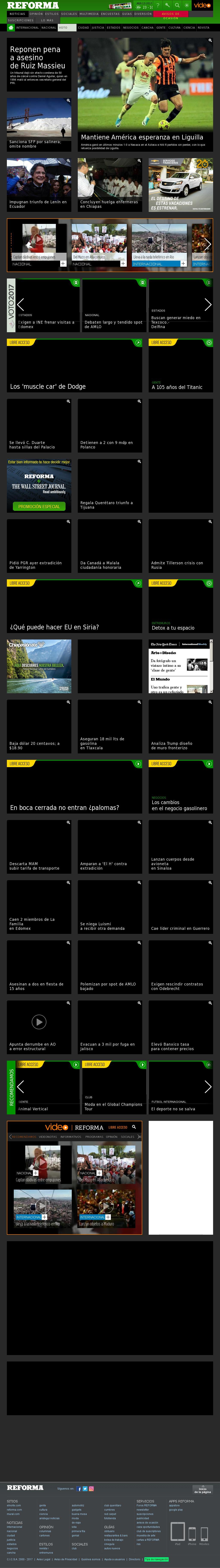 Reforma.com at Thursday April 13, 2017, 7:17 a.m. UTC