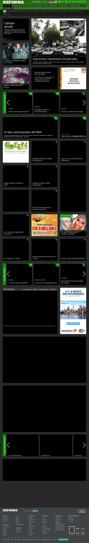 Reforma.com at Wednesday Sept. 17, 2014, 1:17 p.m. UTC