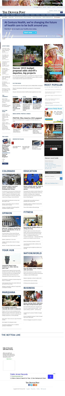 Denver Post at Tuesday Sept. 16, 2014, 12:02 p.m. UTC