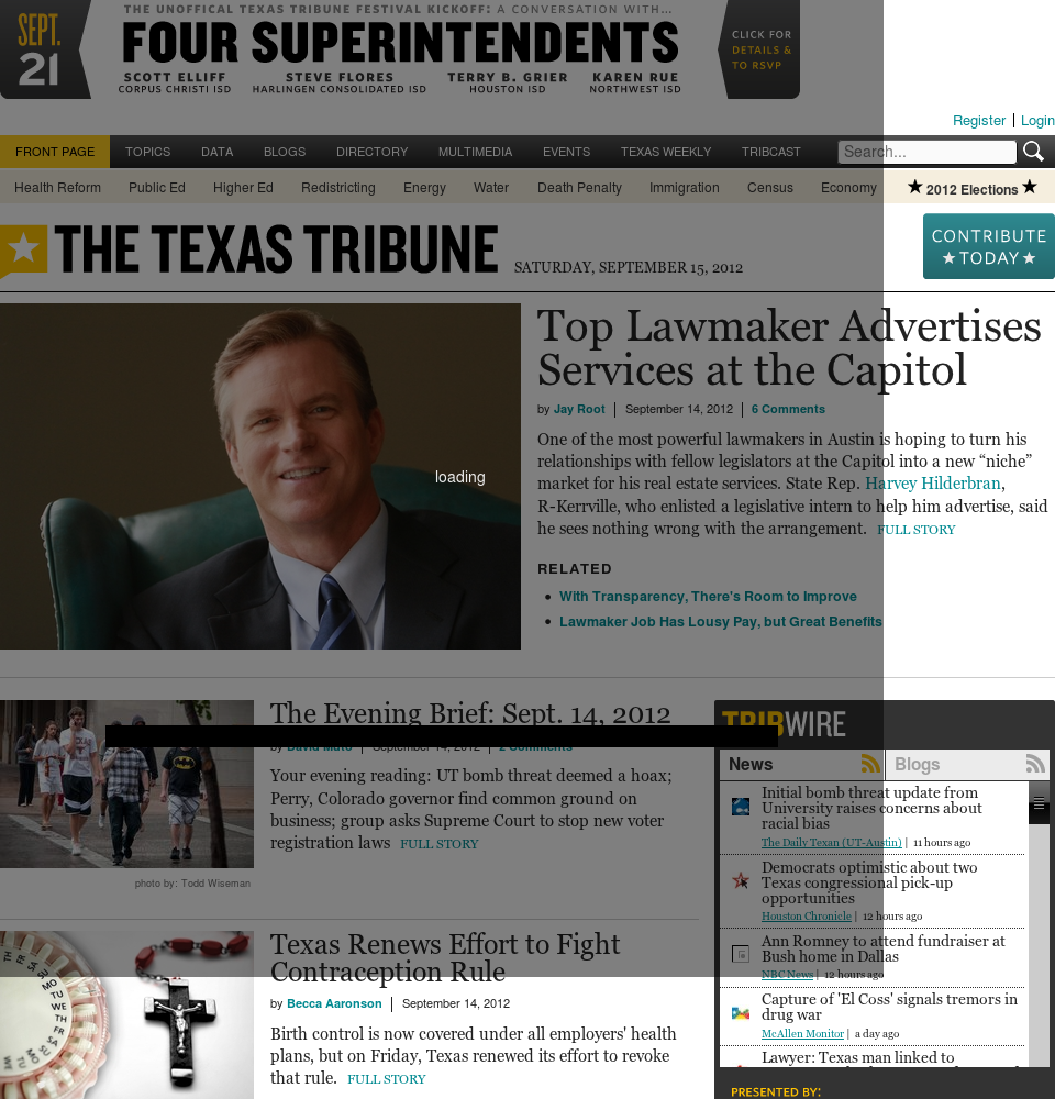 The Texas Tribune