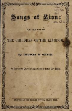 Songs of Zion (RLDS) (1875)