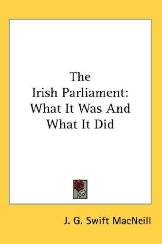 The Irish Parliament
